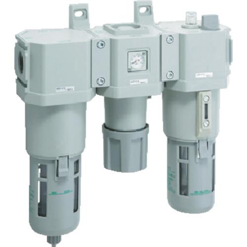 最前線の CKD FRLコンビネーション プラス C8000-20-W-F:家電のタンタンショップ CKD-ガーデニング・農業