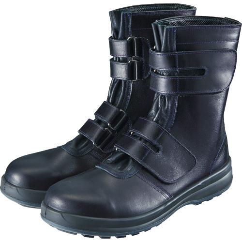 シモン シモン 安全靴 マジック式 8538黒 27.0cm 8538N-27.0 8538N-27.0