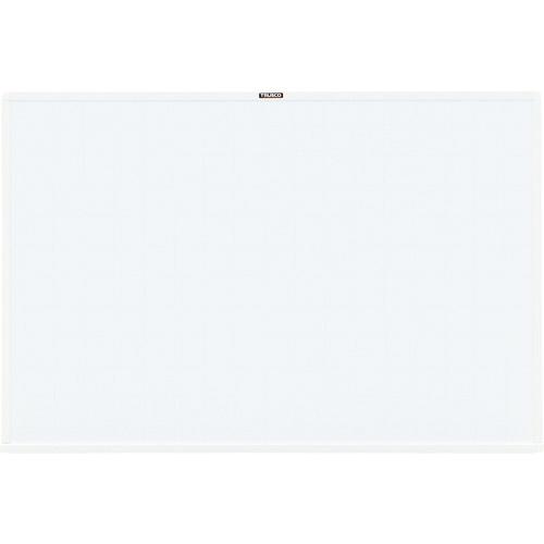 トラスコ中山 TRUSCO スチール製ホワイトボード 白暗線 600X900 白 WGH-122SA-WH