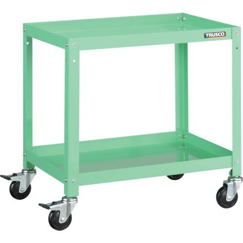 迅速な対応で商品をお届け致します 送料無料 トラスコ中山 TRUSCO ラビットワゴン RBW662YG 物品 YG色 ゴム車輪 600X400