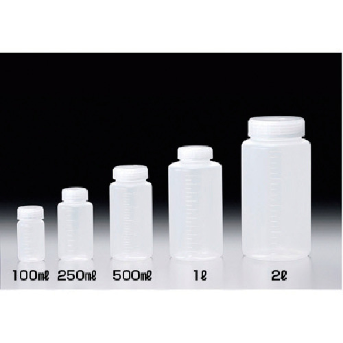 サンプラテック サンプラ クイックボトル 250ml広口 25011 25011