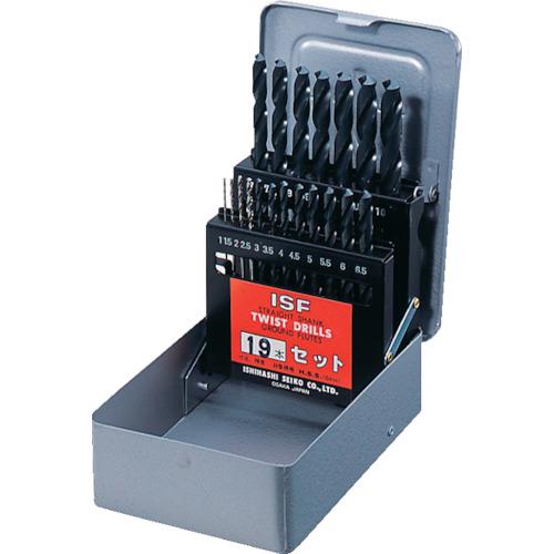 イシハシ精工 IS ストレートドリル 19本組セット D19-S D19-S
