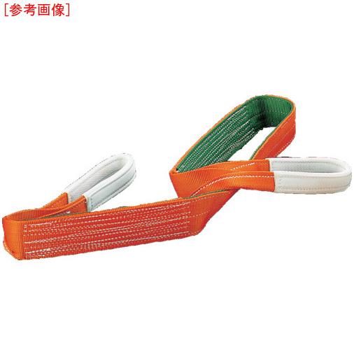 トラスコ中山 TRUSCO ベルトスリング JIS3等級 両端アイ形 100mmX10.0m G100-100