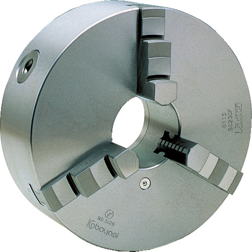 小林鉄工 ビクター スクロールチャック SC165F 6インチ 3爪 一体爪 SC165F