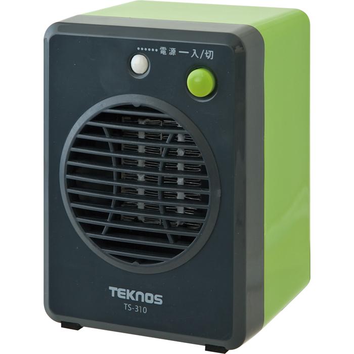 送料無料 TEKNOS 国産品 ミニセラミックヒーター 暖房通販 TS-310 セール特価