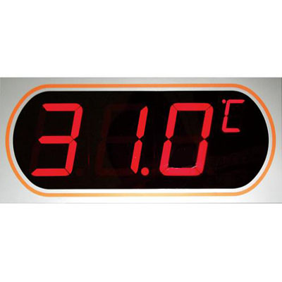 マザーツール デジタルLED表示大文字温度計 MT-872