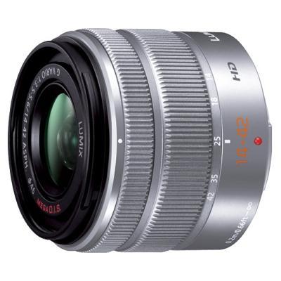 パナソニック デジタル一眼カメラ用交換レンズ(シルバー) H-FS1442A-S