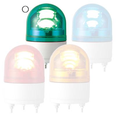 パトライト LED小型回転灯 RHEB-100-G(LED)【納期目安:1週間】
