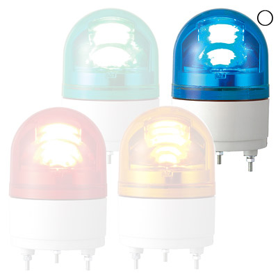 パトライト LED小型回転灯 RHEB-200-B(LED)【納期目安:1週間】