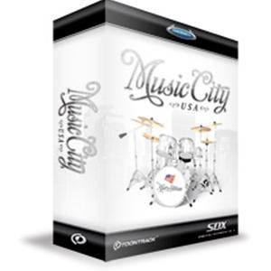 クリプトン・フューチャー・メディア SDX MUSIC CITY USA ソフトウェア音源(SUPERIOR DRUMMER 2.0 拡張音源) SDXMC【納期目安:1週間】