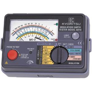 共立電気計器 アナログ絶縁・接地抵抗計 6018 4560187061158