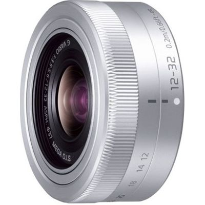 パナソニック デジタル一眼カメラ用交換レンズ【マイクロフォーサーズシステム用交換レンズ】 (シルバー) (HFS12032S) H-FS12032-S【納期目安:04/中旬入荷予定】