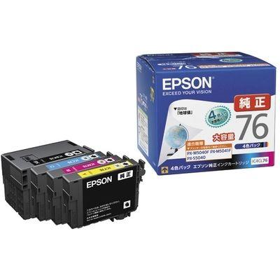 エプソン PX-M5041F/5040F用 大容量インクカートリッジ 4色パック IC4CL76【納期目安:1週間】