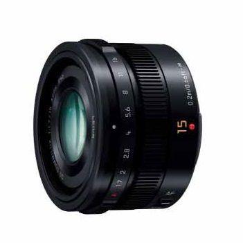 パナソニック デジタル一眼カメラ用交換レンズ H-X015-K