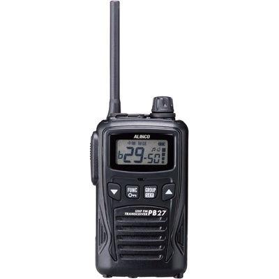アルインコ AL-特定小電力無線機 20+27CH レピーター対応 DJ-PB27