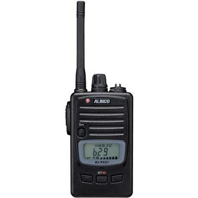 アルインコ AL-交互通話・中継対応 特定小電力トランシーバー DJ-P221-M