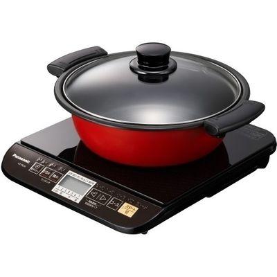 パナソニック 鍋付き!卓上IH調理器(ブラック) (KZPG33K) KZ-PG33-K