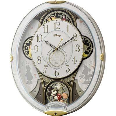 リズム時計 ミッキー&フレンズ 4MN509MC03
