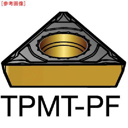 サンドビック 【10個セット】サンドビック コロターン111 旋削用ポジ・チップ 5015 TPMT-06-T1-04-PF-5015-8716