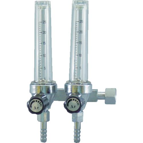 ヤマト産業 ヤマト フロート式流量計二連式 F2M-25-AR 4560125829291
