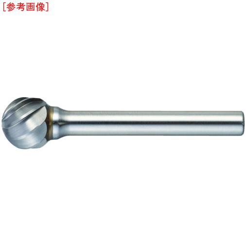 トラスコ中山 TRUSCO 超硬バー 球型 Φ19X刃長18X軸6 アルミカット TA8C190 4989999230772