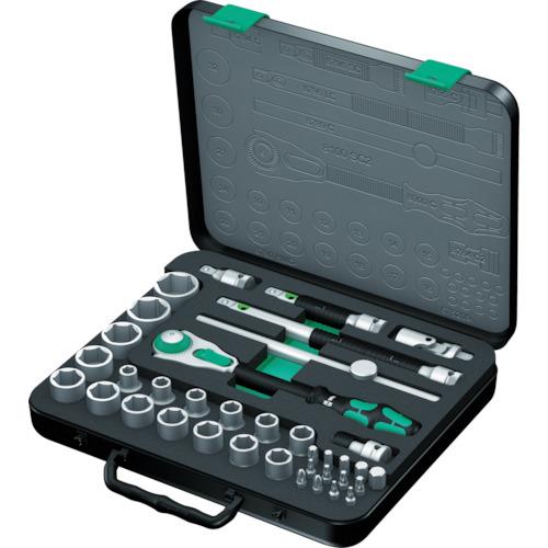 数量限定セール  4013288121189:家電のタンタンショップ プラス Wera 8100SC2 サイクロップラチェットセット 1/2 Wera社-DIY・工具