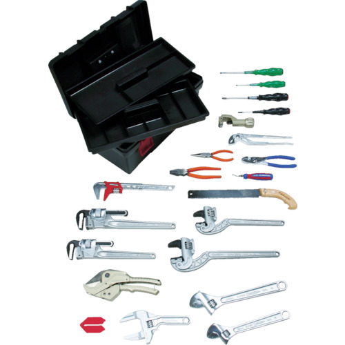 スーパーツール スーパー プロ用配管工具セット(スタンダードタイプ) 4967521337557