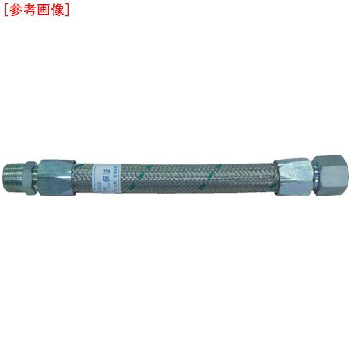 トーフレ TF メタルタッチ無溶接型フレキ 継手鉄 オスXオス 25AX1000L TF16251000MM 4571411264245