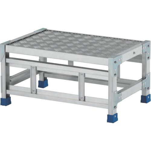 アルインコ アルインコ 作業台(天板縞板タイプ)1段 天板寸法600×400mm 高0.3m 4969182282375