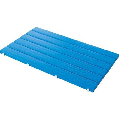 山崎産業 コンドル YSカラースノコセフティ抗菌D型(キャップ付)ブルー 4903180406395