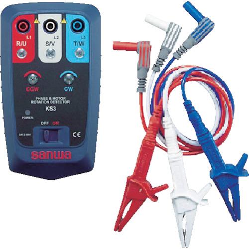 三和電気計器 SANWA 接触式モーター検相器 4981754090133