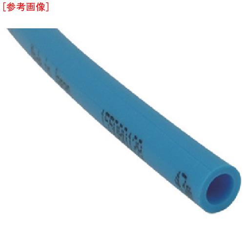 千代田通商 チヨダ TEタッチチューブ 12mm/100m ライトブルー 4537327021624