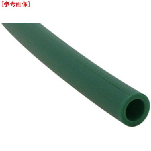千代田通商 チヨダ TEタッチチューブ 10mm/100m 緑 4537327021440