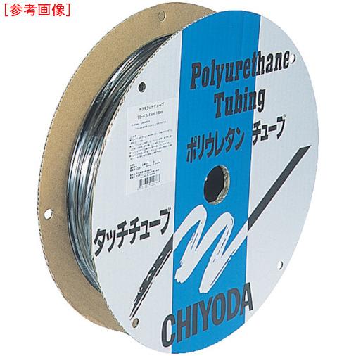 千代田通商 チヨダ TEタッチチュ-ブ 6mm/100m オレンジ 4537327040588