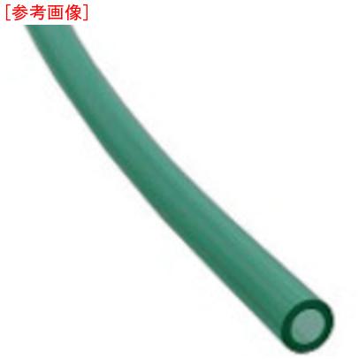 千代田通商 チヨダ TEタッチチューブ 8mm/100m クリアグリーン 4537327059320