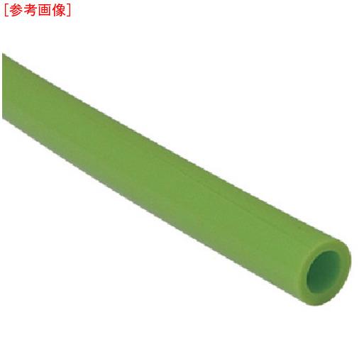 千代田通商 チヨダ TEタッチチューブ 10mm/100m ライトグリーン 4537327021891