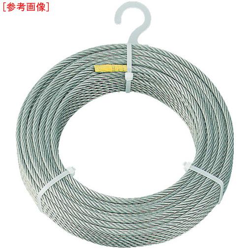 トラスコ中山 TRUSCO ステンレスワイヤロープ Φ5.0mmX200m 4989999336443