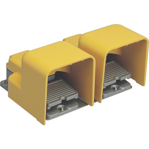 大阪自動電機 オジデン フットスイッチ産業用防雨形・シールドカバー付 定格6A-250VAC  4571216863254