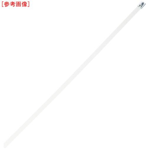 パンドウイットコーポレーション パンドウイット MLT フルコーティングステンレススチールバンド SUS316 白 幅8.1mm 長さ521mm 50本入り MLTFC6H-LP316WH 0074983117949