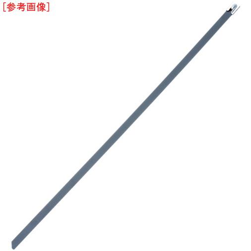 パンドウイットコーポレーション パンドウイット MLT フルコーティングステンレススチールバンド SUS316 黒 幅4.6mm 長さ521mm 100本入り MLTFC6S-CP316 0074983593354