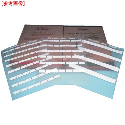 パンドウイットコーポレーション パンドウイット レーザープリンタ用セルフラミネートラベル 白 0074983463923