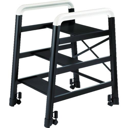 長谷川工業 ハセガワ アルミ製組立式踏台 DE型 3段 ブラック 4968757516037