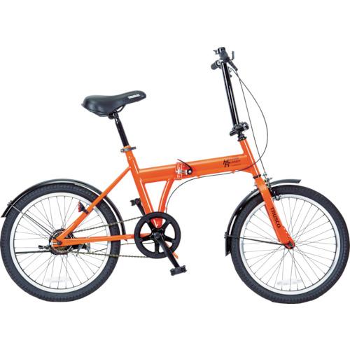 トラスコ中山 TRUSCO 災害時用ノーパンク自転車 ハザードランナー 20インチ 4989999355925