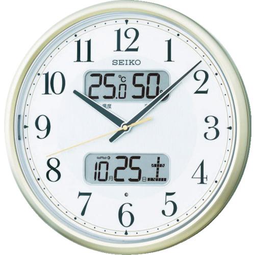 セイコークロック SEIKO 電波掛時計 P枠 KX384S 4517228035098