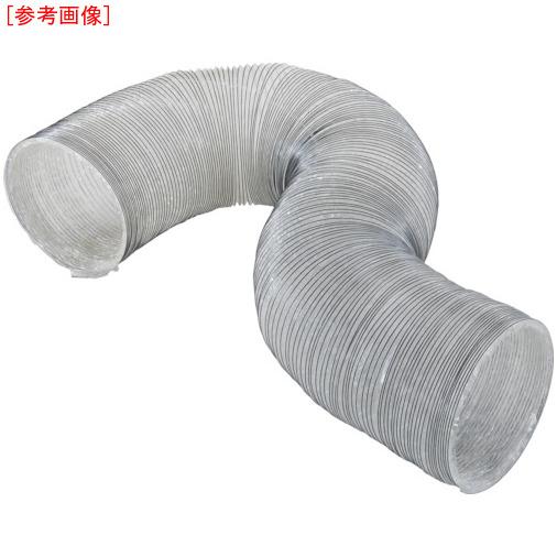 トラスコ中山 TRUSCO フレキシブルダクト使い捨てタイプ(樹脂線) Φ280X5m 4989999314878