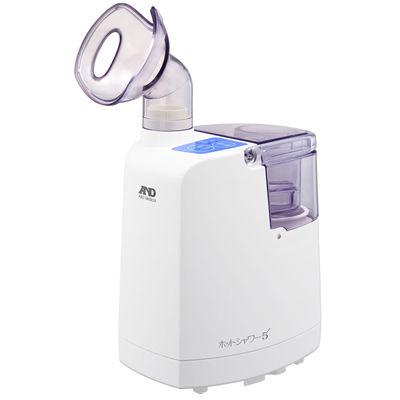 A&D 温めて潤わせる「吸入療法」で、のどの働きを活発に!超音波温熱吸入器「ホットシャワー5」(ブルー) UN-135B
