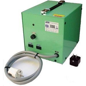 日章工業 アップ/ダウントランス(AC220⇔AC100V、3000W) MF-3000E