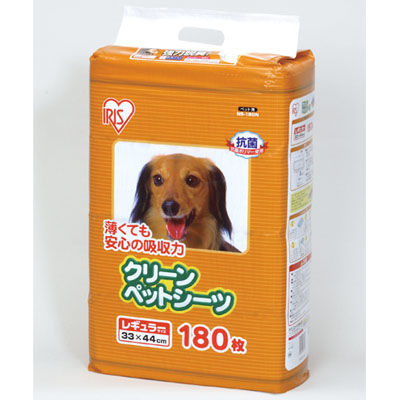 アイリスオーヤマ 【4個セット】クリーンペットシーツ レギュラーサイズ NS-180N