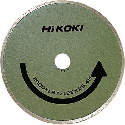 HiKOKI(日立工機) ダイヤモンドカッター 200×25.4 (リムタイプ) 0093-9591
