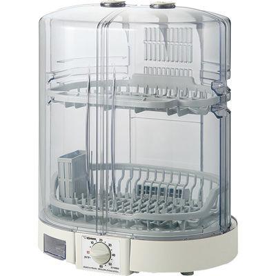 送料無料 象印 置き場所に困らないたて型タイプ メーカー再生品 食器乾燥機 EY-KB50-HA テレビで話題